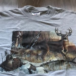 Shirt buck deer